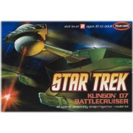Model Plastikowy Do Sklejania Polar Lights (USA) - Krążownik Star Trek Klingon D7