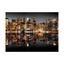 Fototapeta Miasto Nocą Nowy Jork