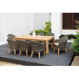 Stół prostokątny Jambi 220x100cm