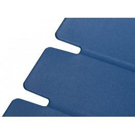 Krzesło Techno niebieskie, podstawa czarna