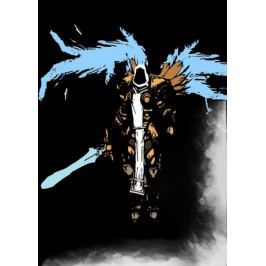 BlizzardVerse Stencils - Tyrael, the Stalwart Defender of Mankind, Diablo - plakat