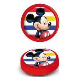 Lampka Myszka Miki na baterie nocna Mickey Mouse red