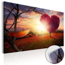 Obraz na szkle akrylowym - Kraina miłości [Glass]