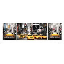 Nowy Jork Taksówki - plakat premium