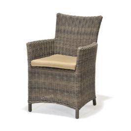 Fotel z poduszką Kolanta PDA szary