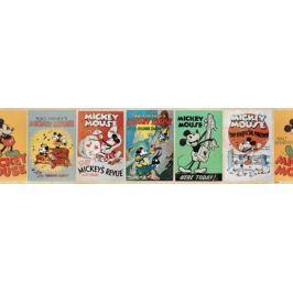 Border Myszka Miki Vintage Mickey Mouse