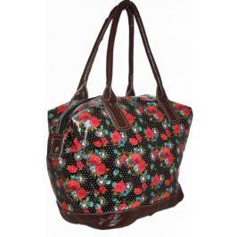 Duża torebka damska na ramię Róże Shopper Bag CB166