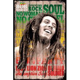 Bob Marley Największe Hity - plakat