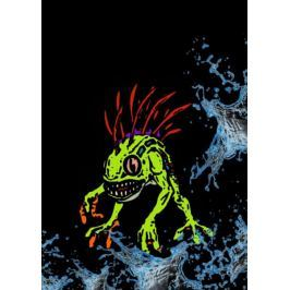 BlizzardVerse Stencils - Murky, the Deep Terror, Warcraft - plakat