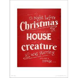 Christmas Mouse - plakat premium