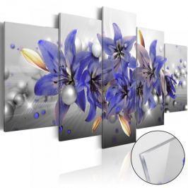 Obraz na szkle akrylowym - Purpurowa rywalizacja [Glass]