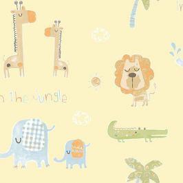 Tapeta Afrykańskie Zwierzęta Tiny Tots G45147