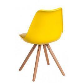 Krzesło Norden Star PP żółte