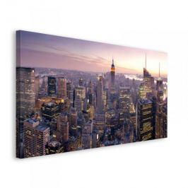 Światła Nowego Jorku - obraz na płótnie