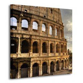 Rzym, Koloseum - Obraz na płótnie