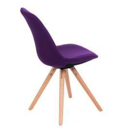 Krzesło Norden Star pikowane fioleto