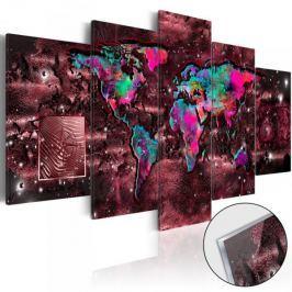 Obraz na szkle akrylowym - Rubinowa podróż [Glass]