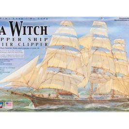 Model Plastikowy Do Sklejania Lindberg (USA) - Żaglowiec Sea Witch