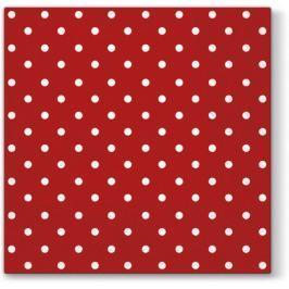 Pl Serwetka Dots Red