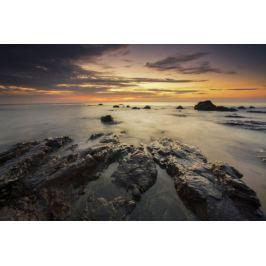 Skaliste wybrzeże - plakat