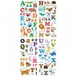 Naklejki Alfabet Literki ze zwierzętami