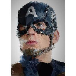 POLYamory - Captain America, Marvel - plakat