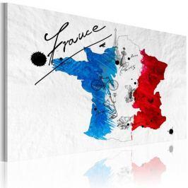 Obraz - Witamy we Francji!