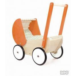 Wózek głęboki, pomarańczowy