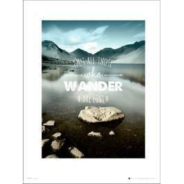 Adventure Wander - plakat premium