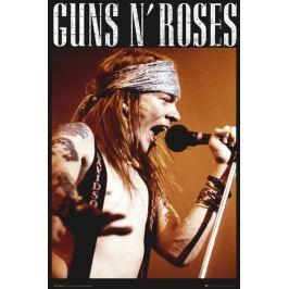 Guns N' Roses Axl Rose - plakat