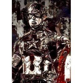 Legends of Bedlam - Captain America, Marvel - plakat