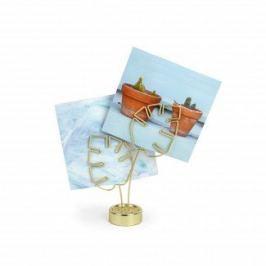 Ramka na zdjęcia Leaflet Brass