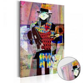Obraz na szkle akrylowym - Melodia nowoczesności [Glass]