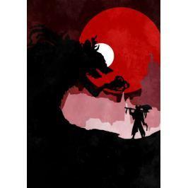 Bloodborne Vintage Poster - plakat
