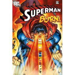 Superman Burn - plakat