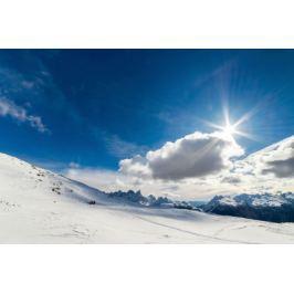 Słoneczne Dolomity - plakat premium