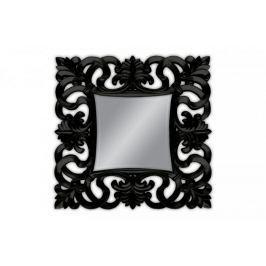 Lustro wiszące Baroque 100x100 czarny