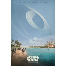 Star Wars Gwiezdne Wojny Łotr 1 (A Rebelion Built On Hope) - plakat