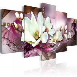 Obraz - Magnetyczna abstrakcja z orchideą