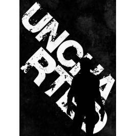 Typography Stencils - Uncharted - plakat
