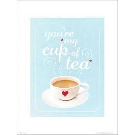 Typographic My Cup Of Tea - plakat premium