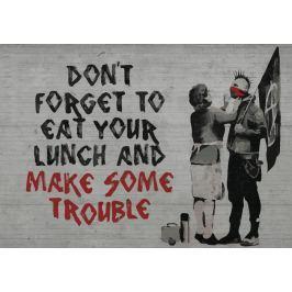 Fototapeta Banksy Anarchy flizelinowa