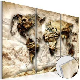 Obraz na szkle akrylowym - Imperium nauki [Glass]