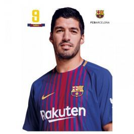 Kartka pocztowa A4 Suarez FC Barcelona