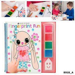 Kolorowanka dla najmłodszych Fingerprint Fun