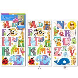 Naklejki literki - alfabet