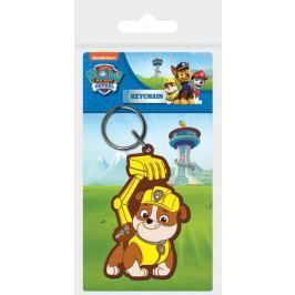 Brelok do kluczy gumowy Psi Patrol (Rubble)