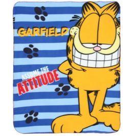 Pled Koc Kocyk polarowy Garfield 120x140cm