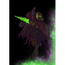 BlizzardVerse Stencils - Zeratul, the Dark Prelate, Starcraft - plakat