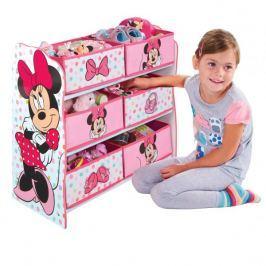 Półka z koszami na zabawki Myszka Minnie
